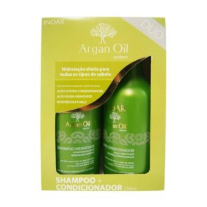 Inoar Argan oil shampoo en conditioner 2 x 1000 ML