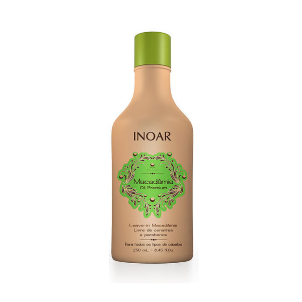 Inoar Macadamia Oil Premium leave-in conditioner 250 ML