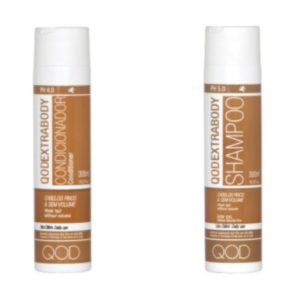 Qod Extrabody keratine shampoo en conditioner