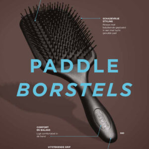 Denman D83 Paddle Brush haarborstel