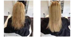 Keratine behandeling Europese haartype