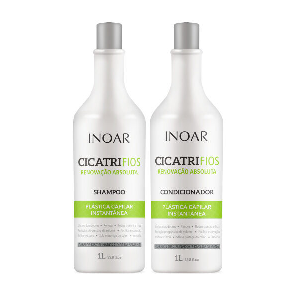 Inoar Cicatrifios shampoo en conditioner 2 x 1000 ML