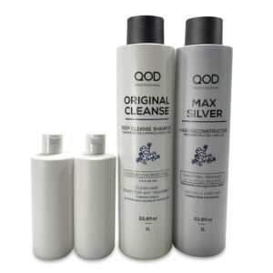 Qod Max Silver Hair Recontructor keratine behandeling 2 x 250 ml